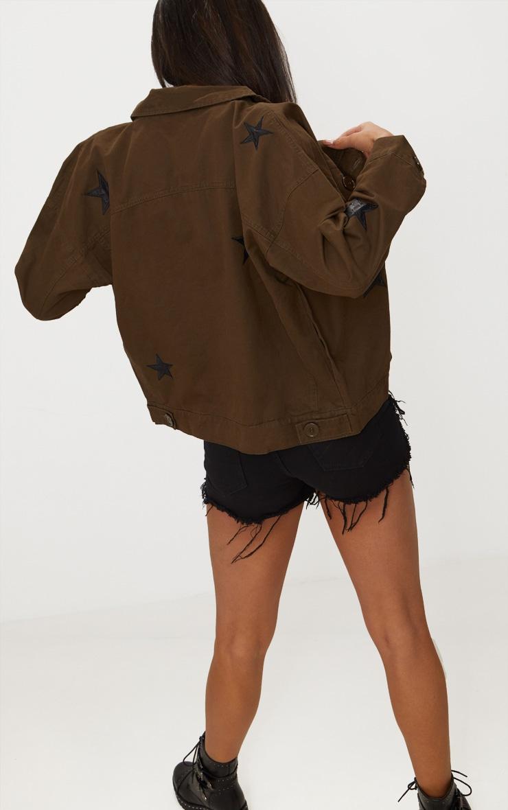 Khaki Star Utility Jacket 2