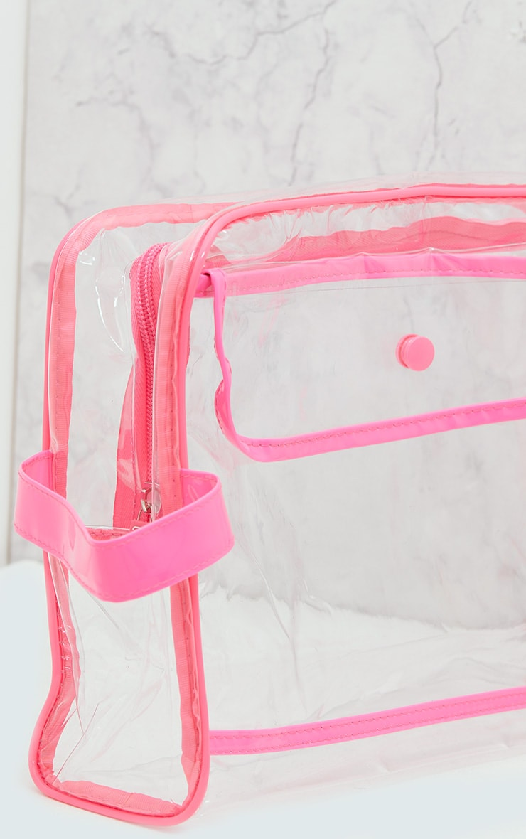 Clear Cosmetics Bag 3