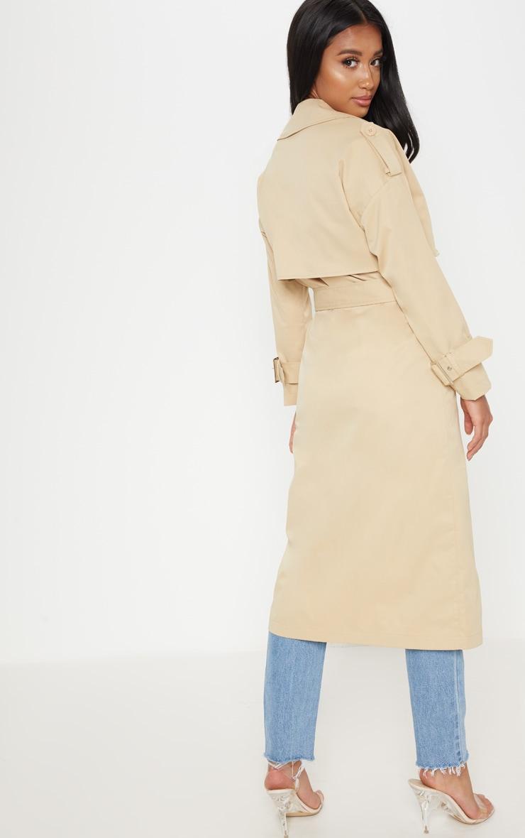 Petite - Trench coat beige 2