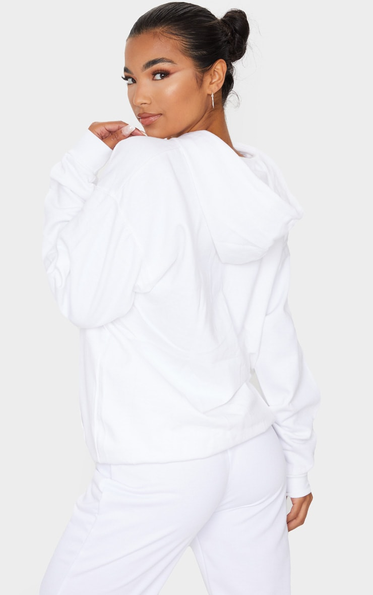 White Ultimate Oversized Hoodie 2