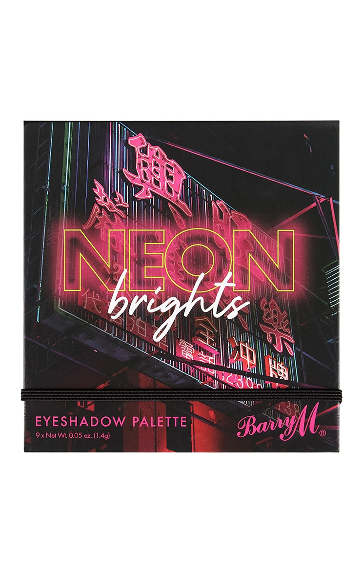 Barry M Neon Brights Eyeshadow Palette 2