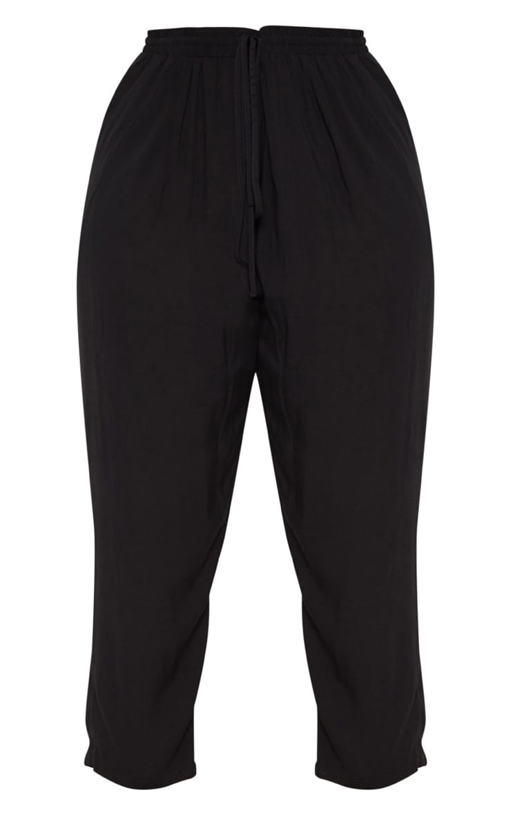 Plus Black Casual Pants 3