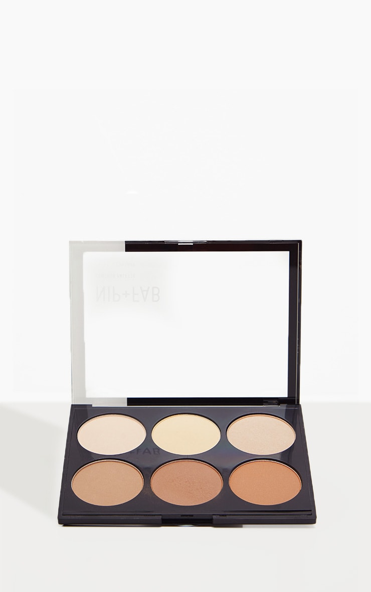Nip & Fab Contour Palette Shade Light 01 2