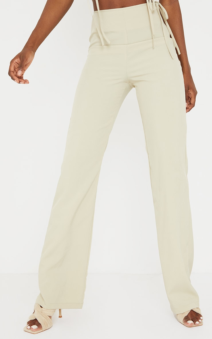 Tall Stone Tie Side Trousers 2