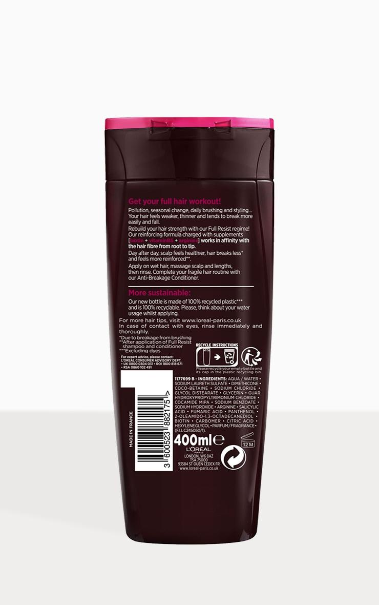 L'Oreal Elvive Full Resist Reinforcing Fragile Hair Shampoo 400ml 2