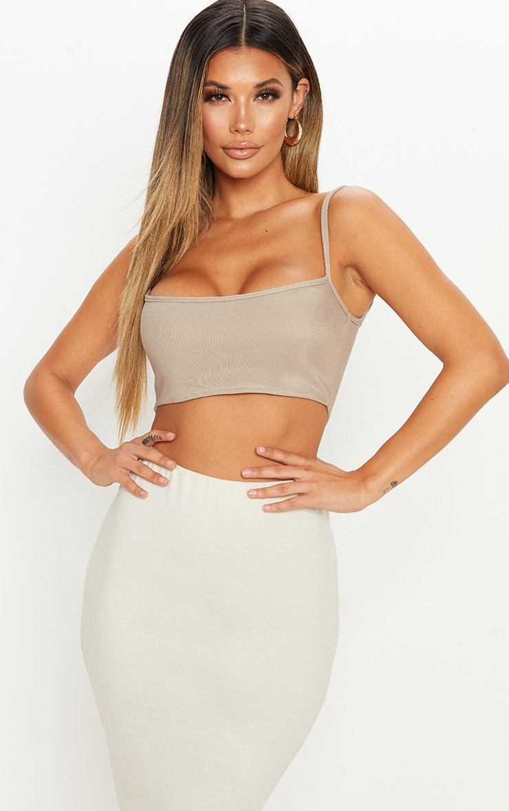 Stone Textured Ultimate Crop Top