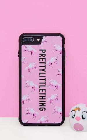 Plt Unicorn Pink Phone Case 8 Plus   PrettyLittleThing USA