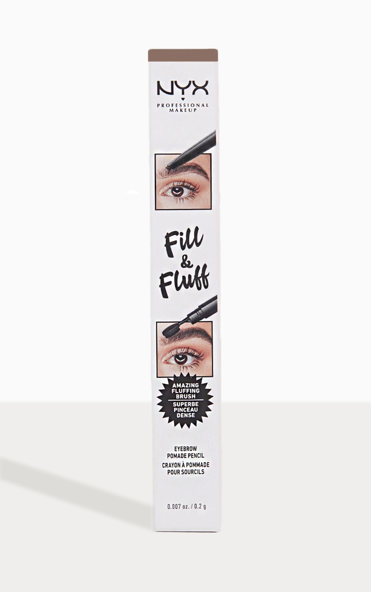 NYX Professional Makeup Fill & Fluff Eyebrow Promade Pencil Taupe 1