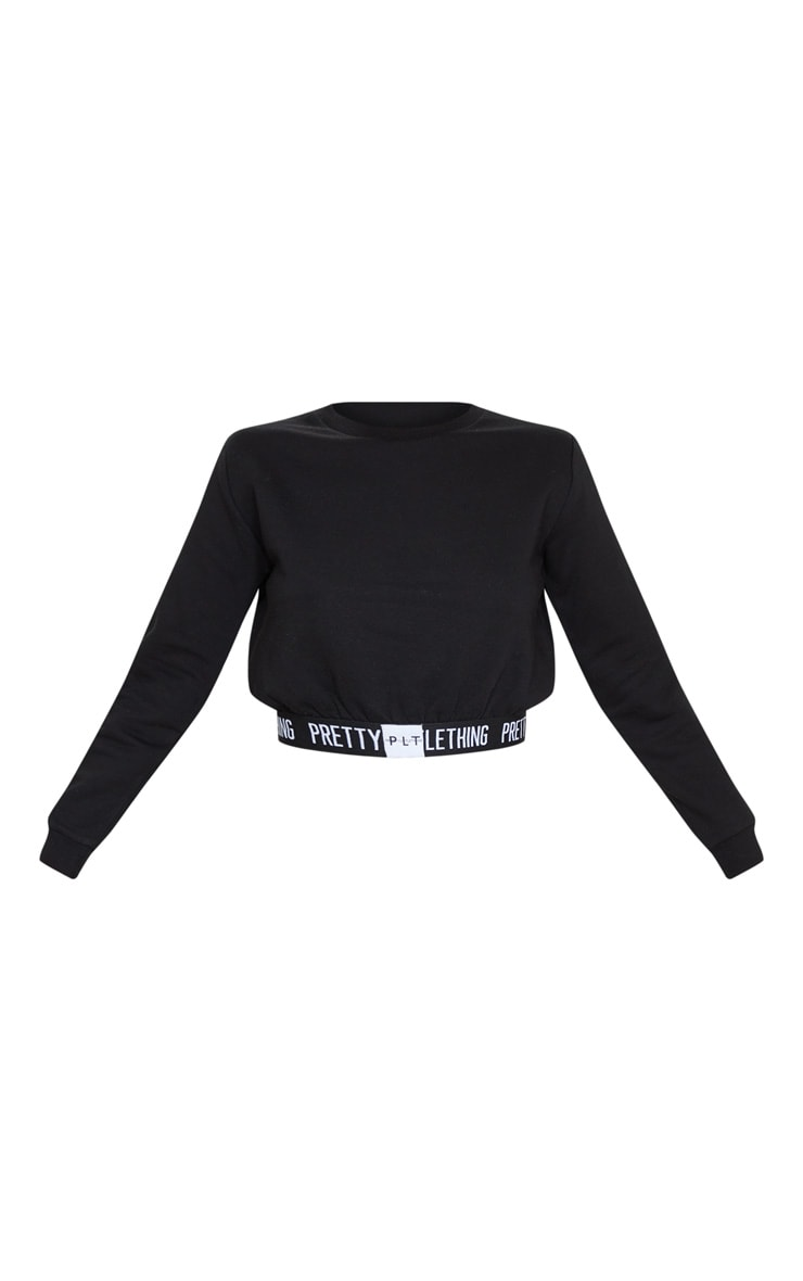 PRETTYLITTLETHING Black Lounge Sweater 3