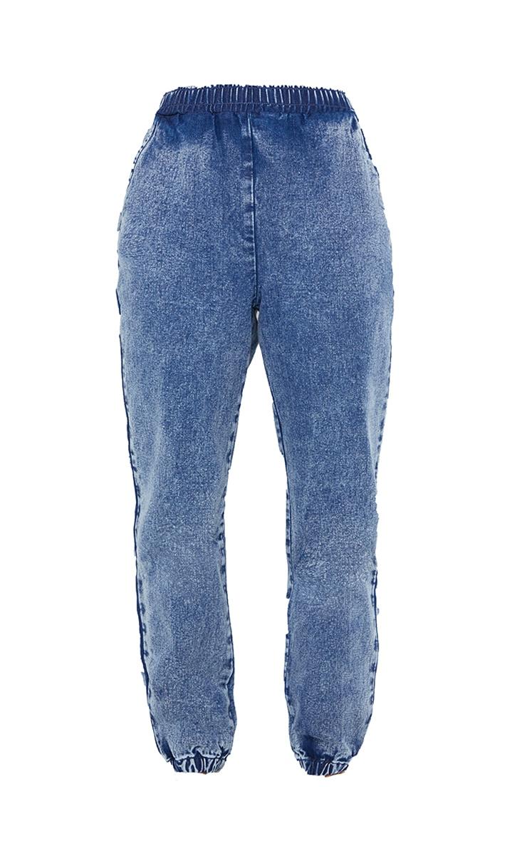 Acid Blue Wash Joggers Jean 5