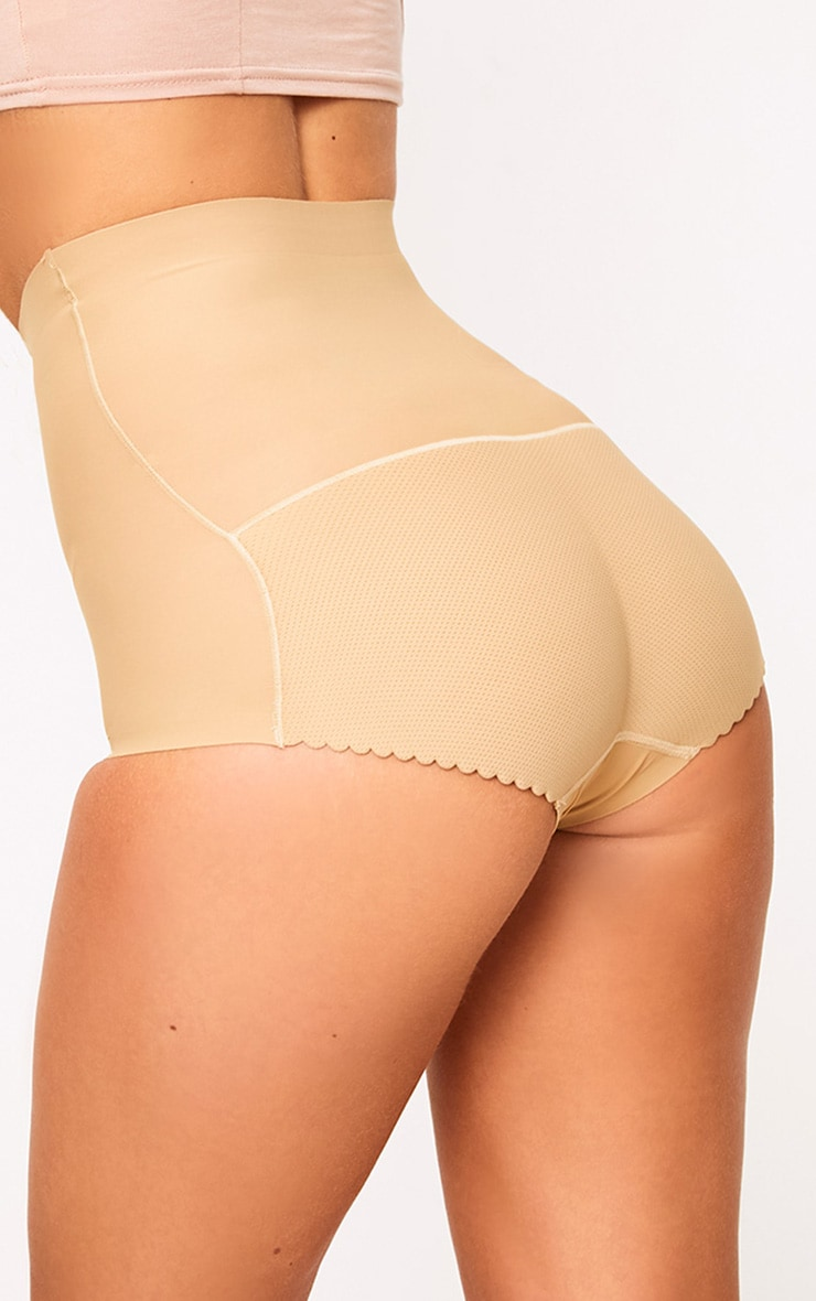 Nude Shapewear High Waisted Control Panties 1