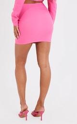 Bright Pink Mini Skirt 3