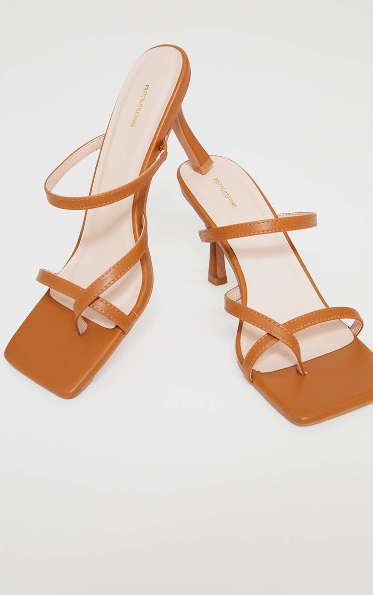 Camel Toe Loop Low Heel Mules 3
