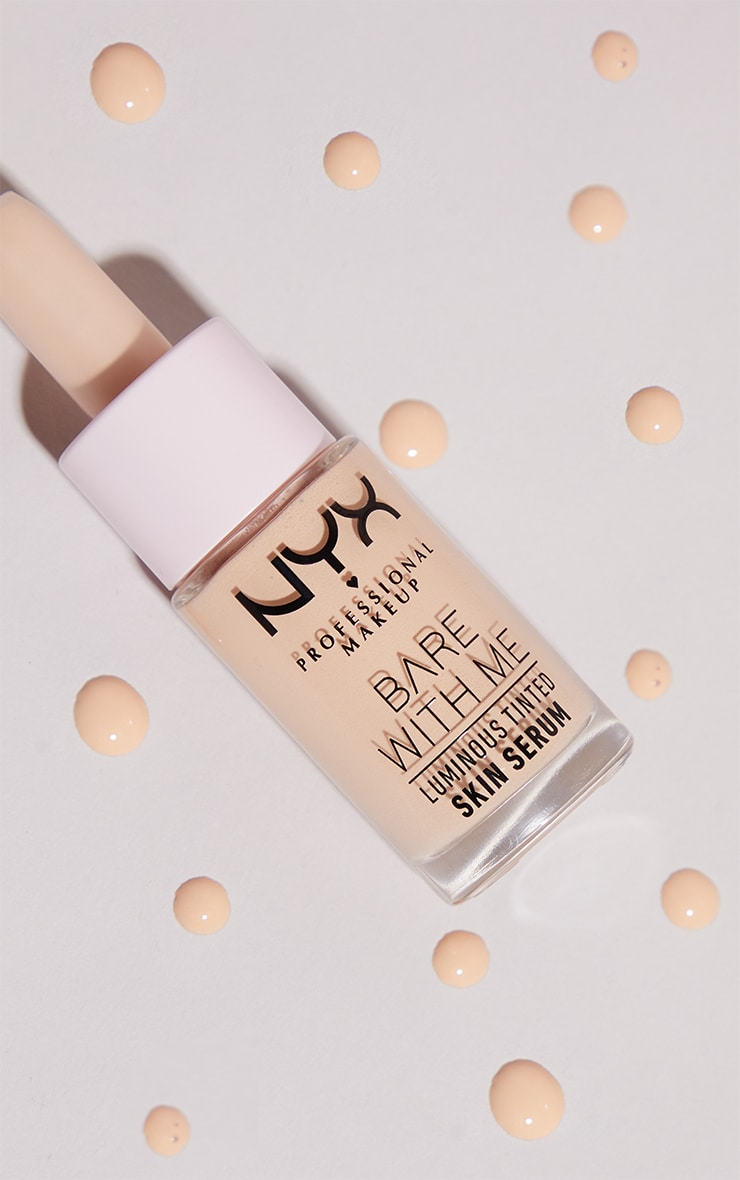 NYX PMU Bare With Me Luminous Tinted Skin Serum Light 2