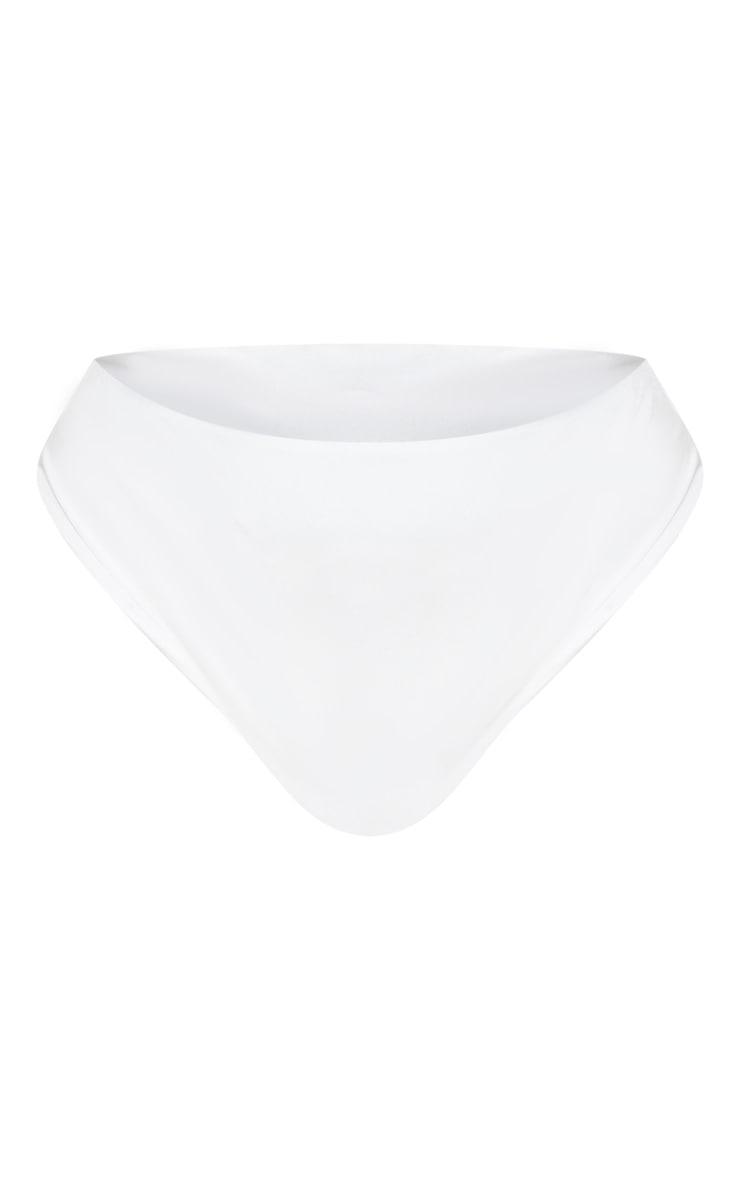 Plus White Bikini Bottom 7