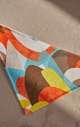 Multi Abstract Print Bandana 2