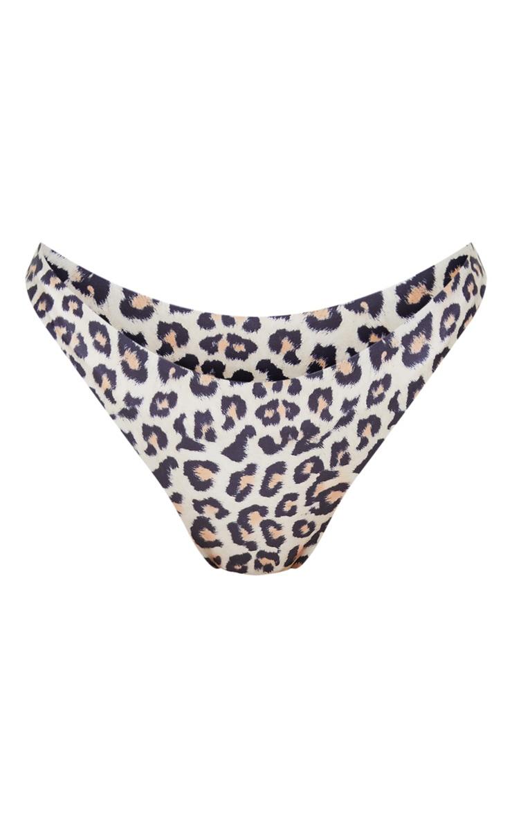 Leopard Mini Front Bikini Bottoms 3