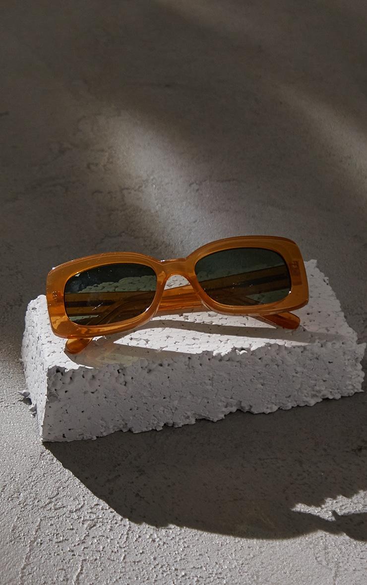 A.Kjaerbede Salo Light Brown Sunglasses 2