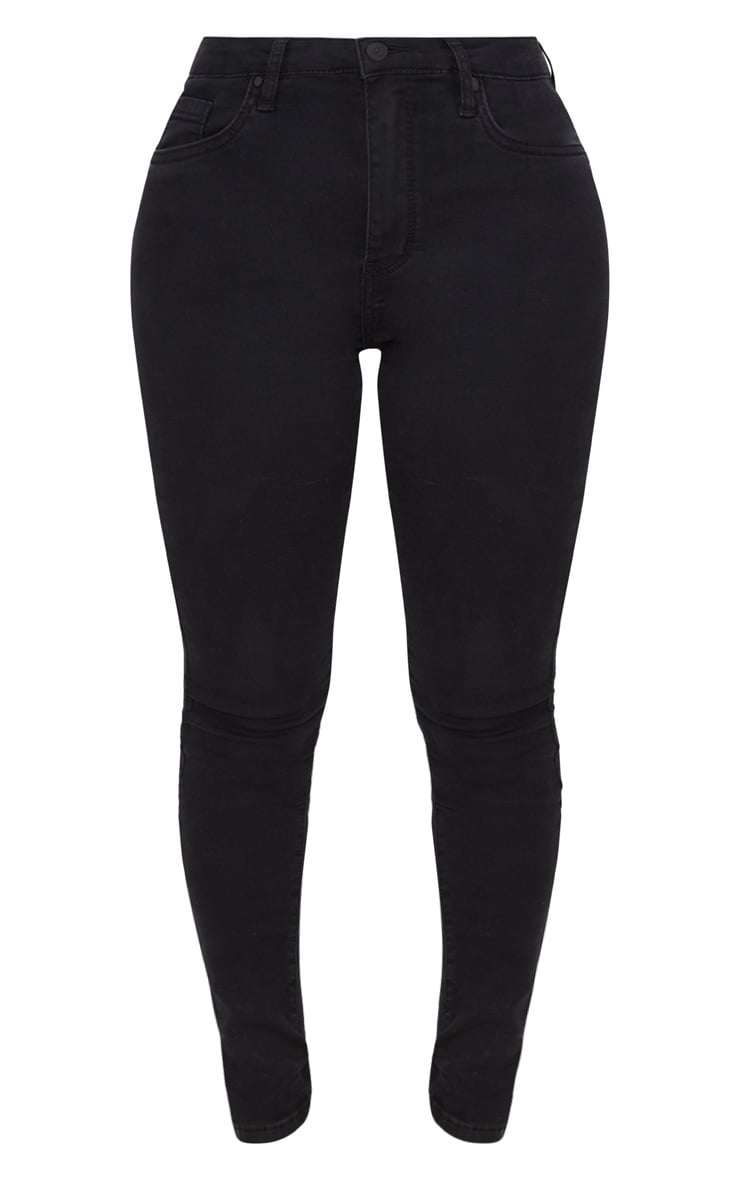 Shape Black Stretch Denim Skinny Jeans 3