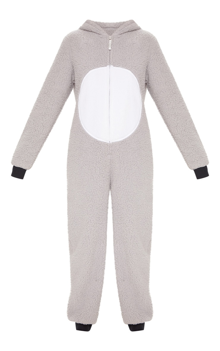 Koala Bear Grey Onesie 3