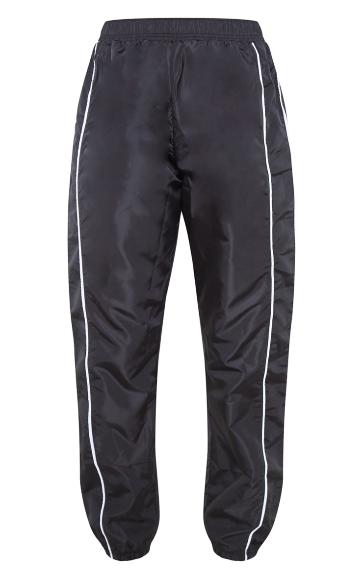 Black Shell Tracksuit Bottom 3