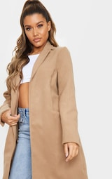 Camel Pocket Detail Coat 4