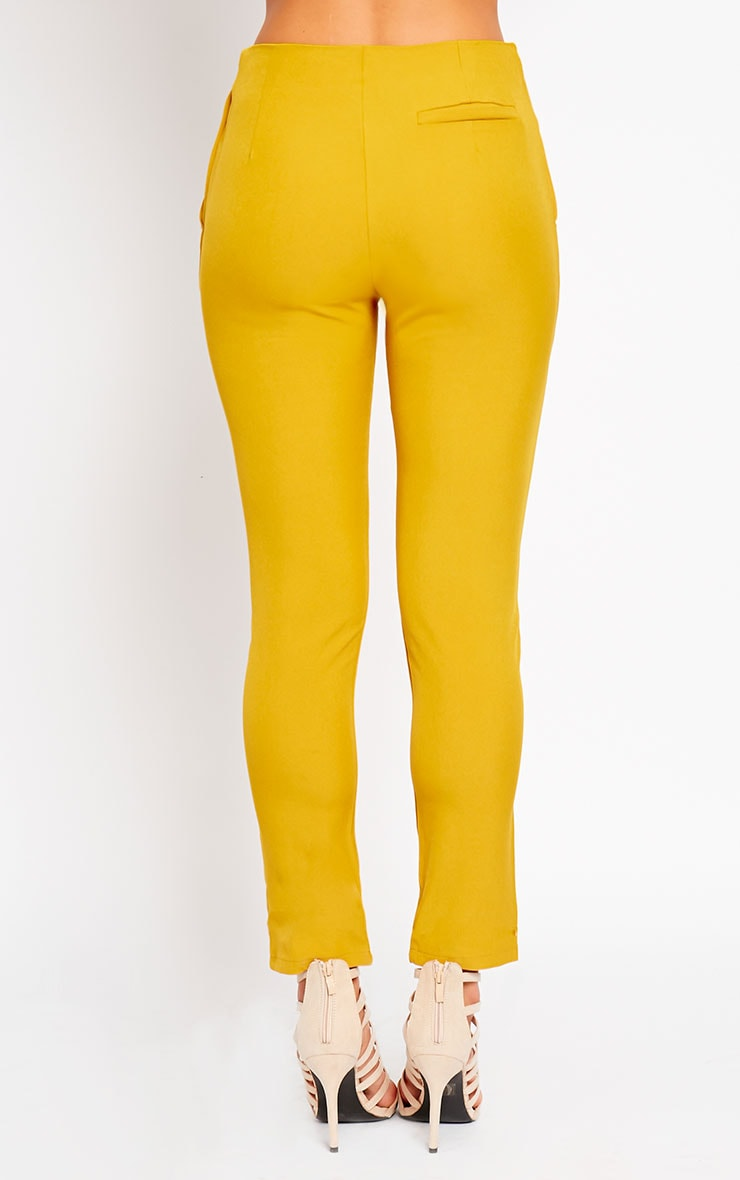 Kit Mustard Trousers 4
