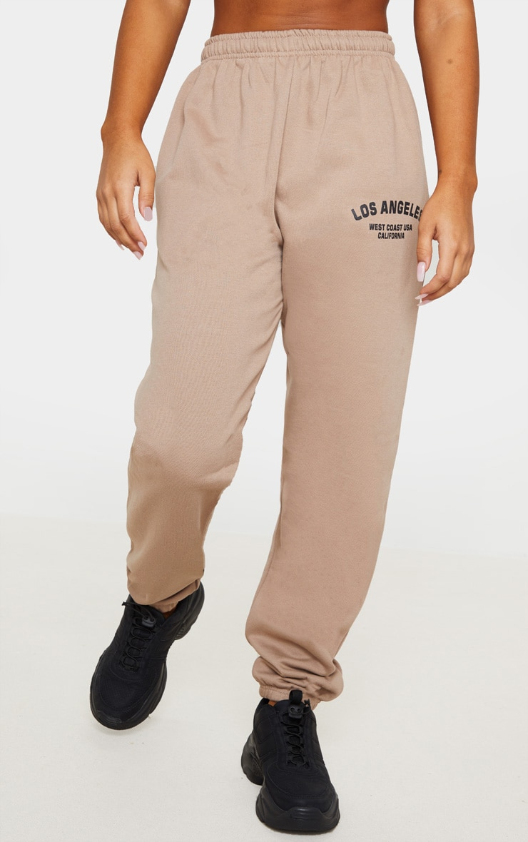 Taupe Los Angeles Casual Jogger 2