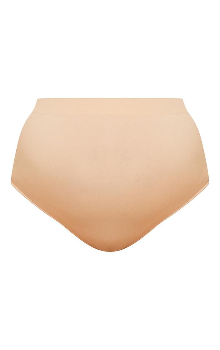 Maternity Camel Seamless Bump Support Panties 5