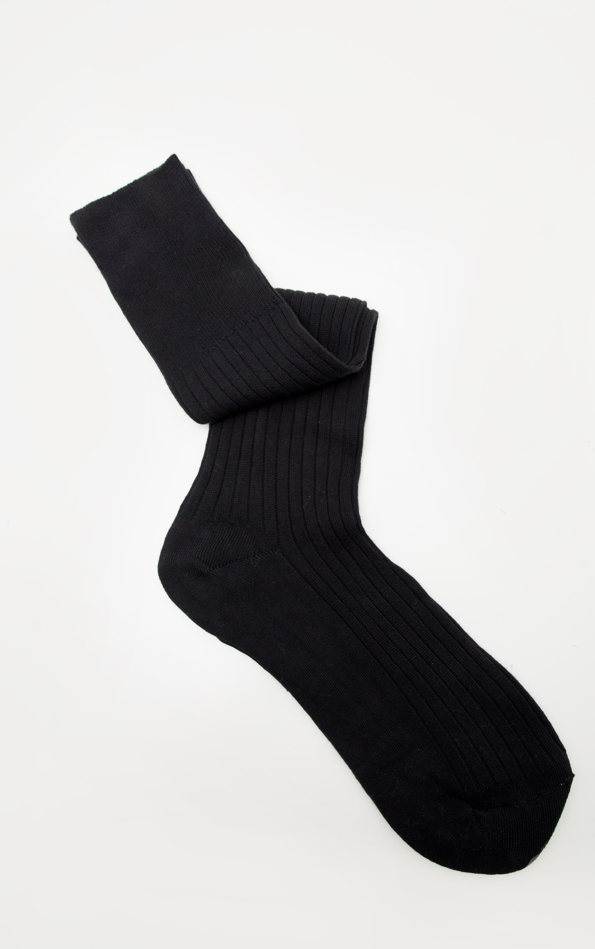 Black Knee High Football Socks 3