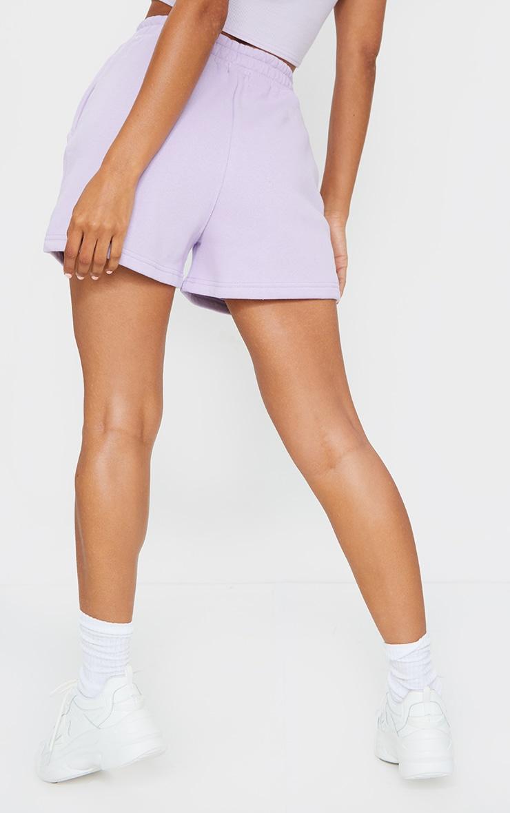 Lilac Sweat Pocket Shorts 3