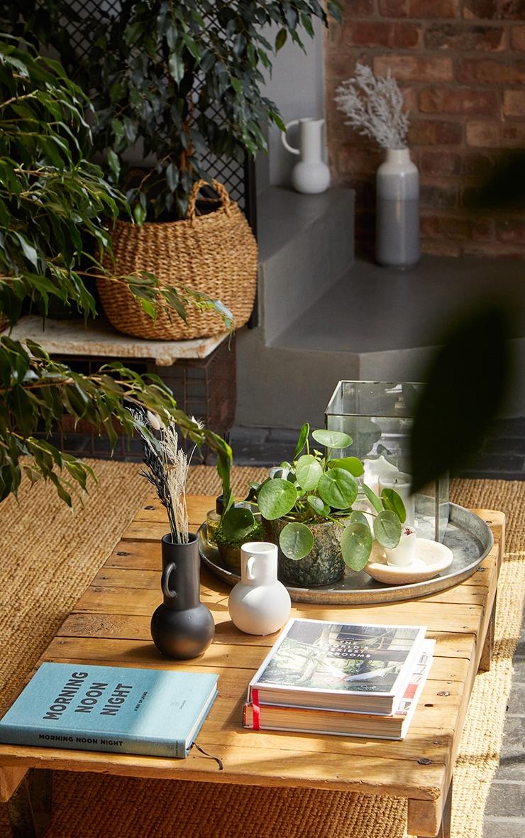 White Small Amphora Vase 3