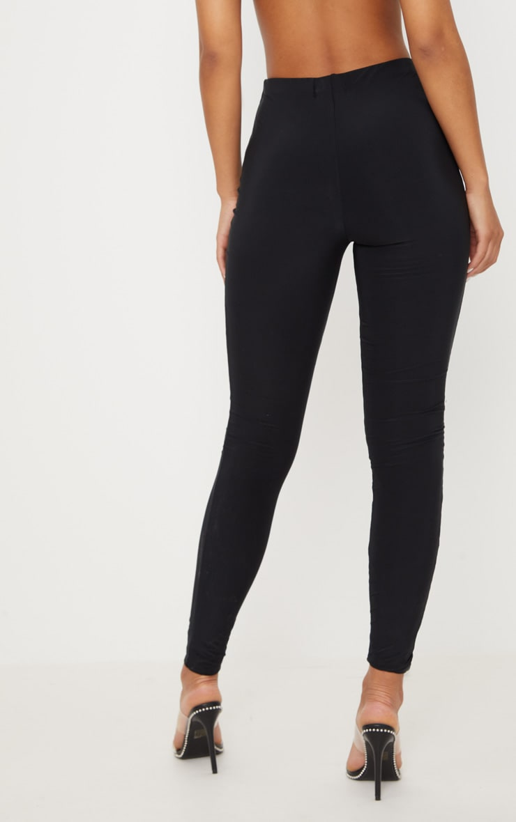 Black Second Skin Slinky Legging 4