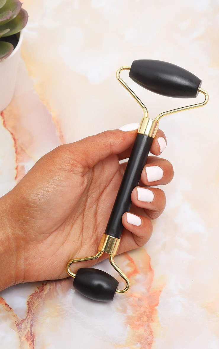 Black Facial Massage Roller 1