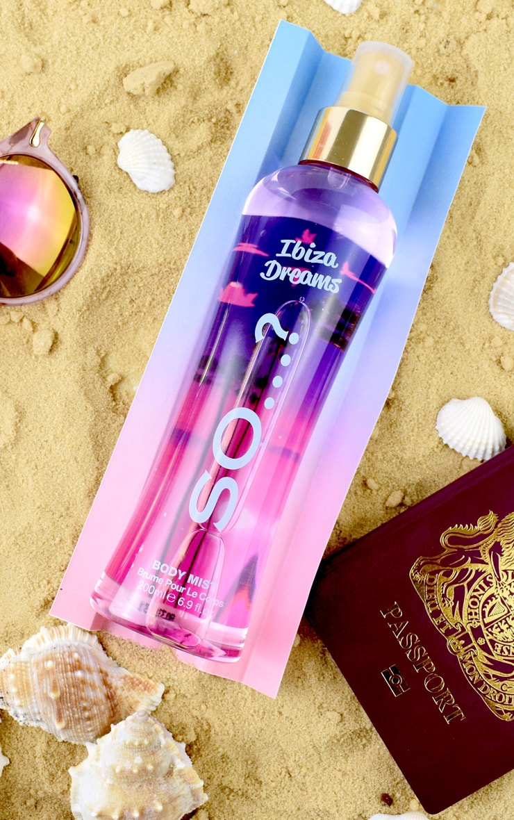 So...? Summer Escapes Ibiza Dreams Body Mist 200ml 2