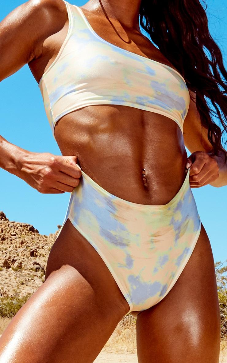Multi Tie Dye Full Coverage Bikini Bottoms 5