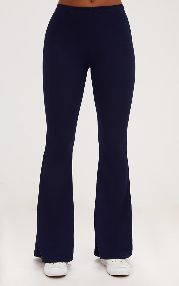 Navy Ultimate Flared Trousers 2