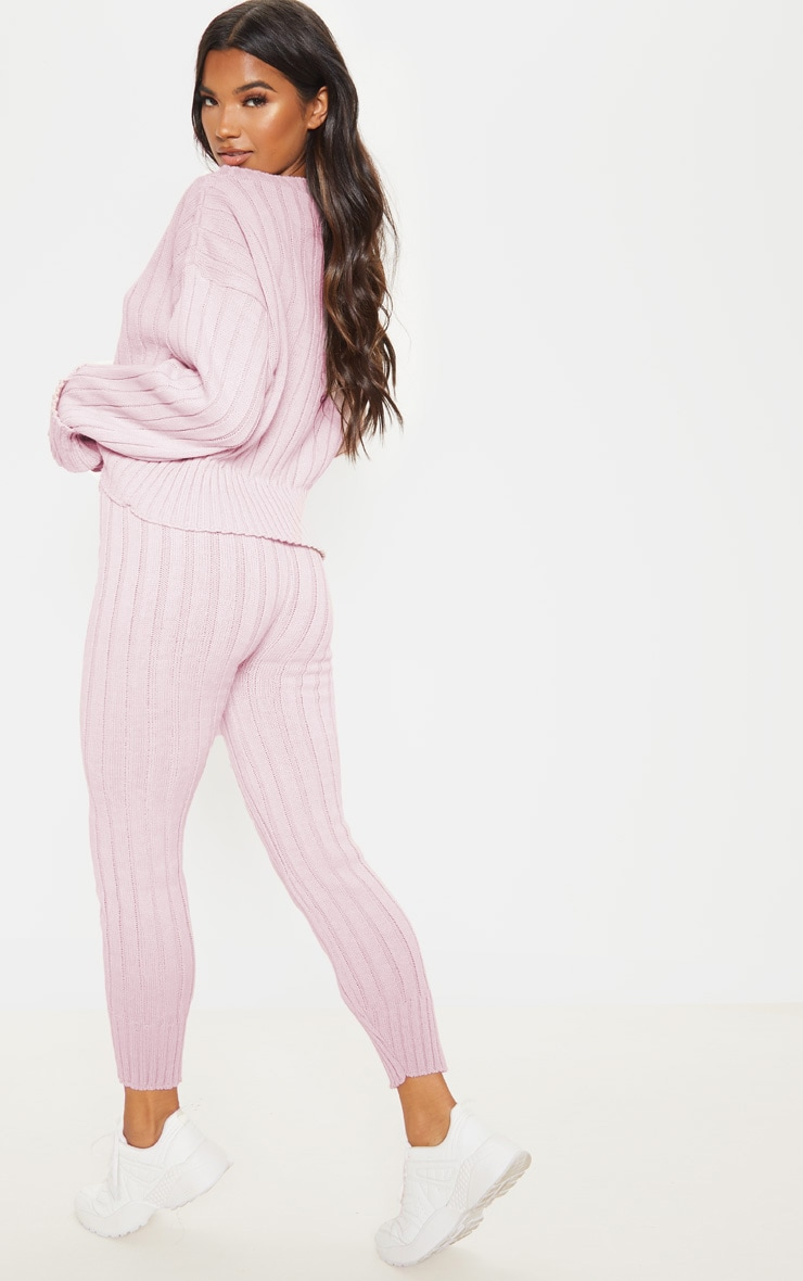 Rose Bardot Jumper And Legging Lounge Set 2
