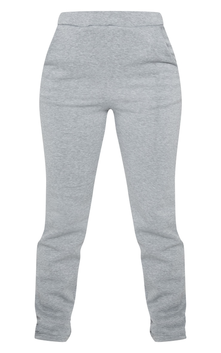 Petite Grey Oversized Sweat Jogger 3