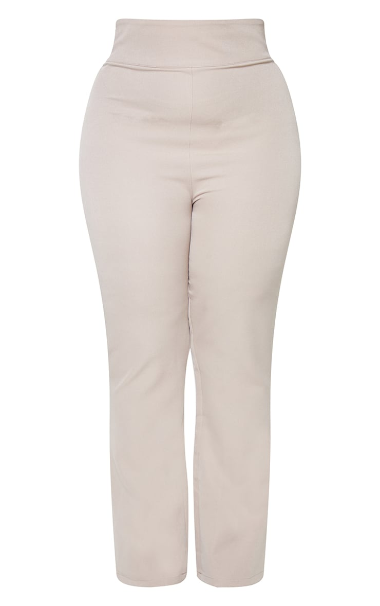 Plus Stone Woven Trousers 5