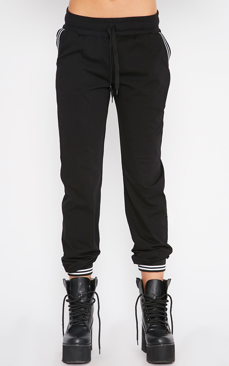 Juniper Black Sports Trim Jogger 6