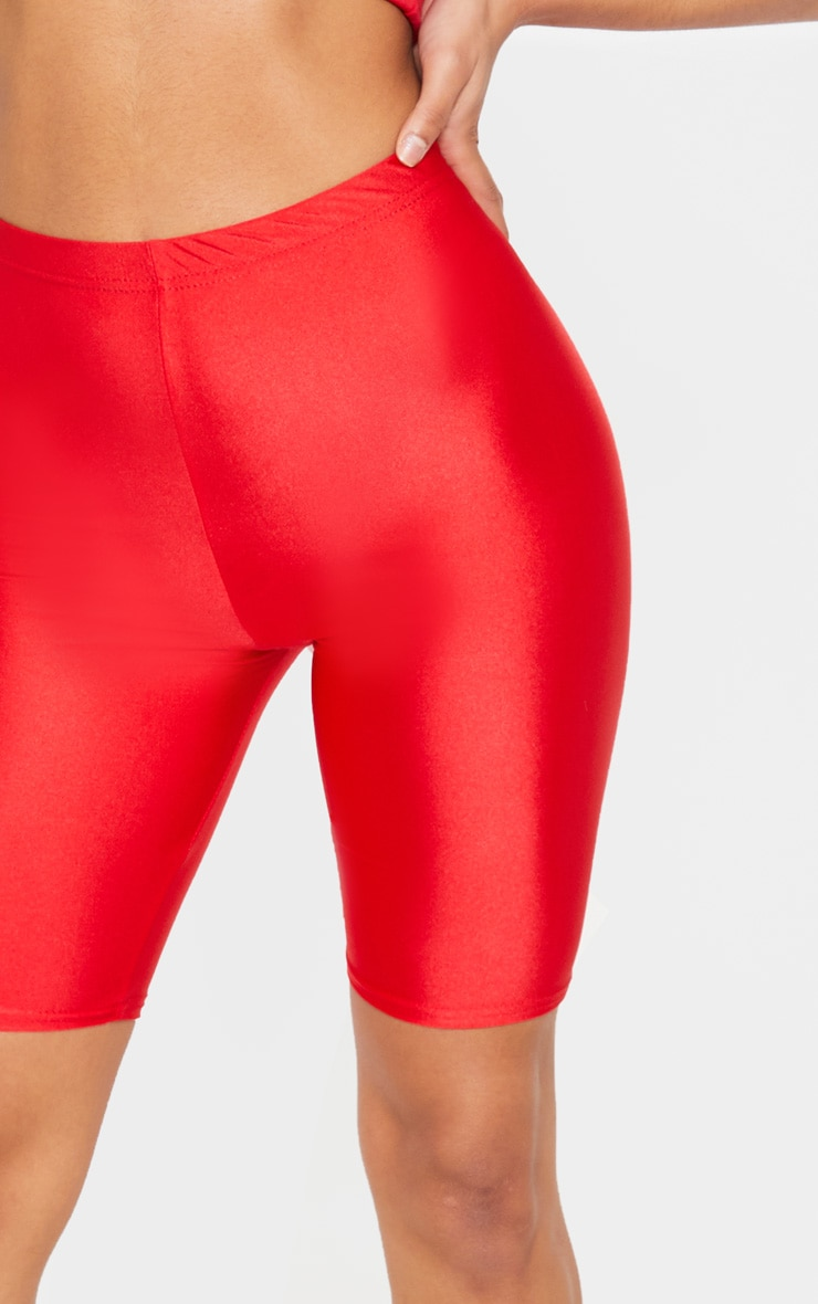 Red Disco Cycle Short 5