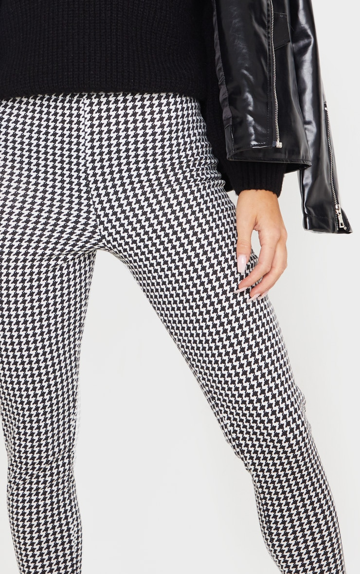 Dogtooth Checked Ponte Legging 5