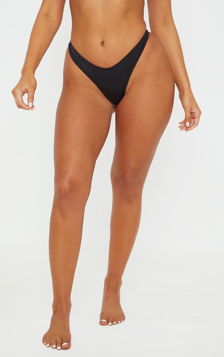 Black Mix & Match Thong 2