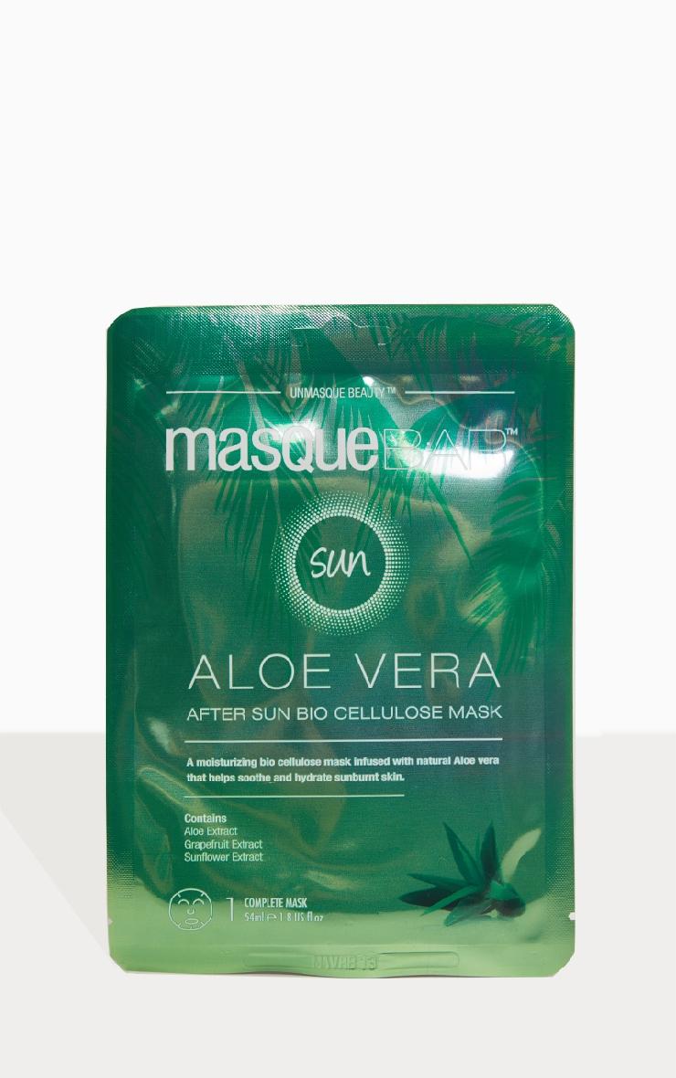 MasqueBAR Aloe Vera After Sun Bio Cellulose Sheet Mask 1