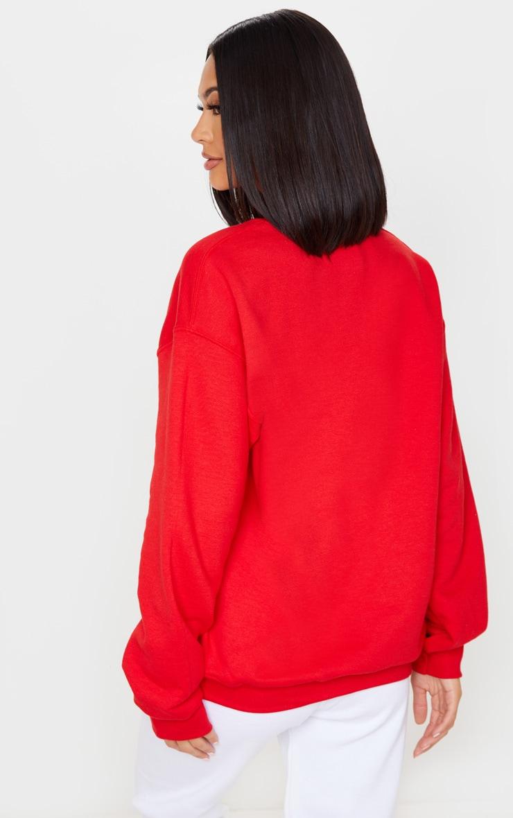 Red Lets Get Lit Sweatshirt 2