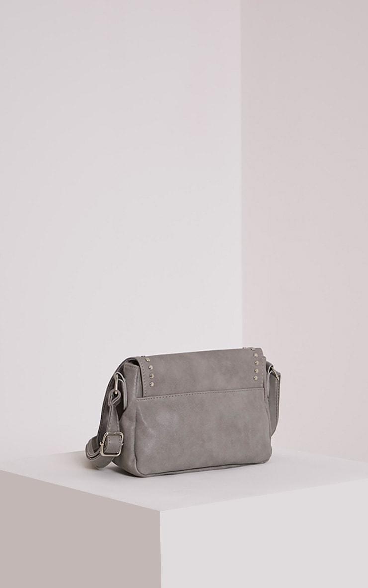 Dusti Grey Studded Shoulder Bag 3