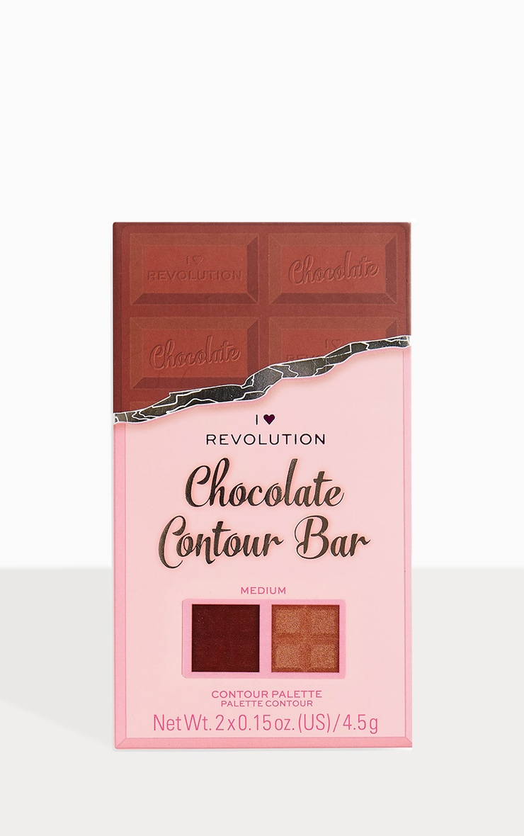I Heart Revolution Chocolate Contour Palette Medium 2