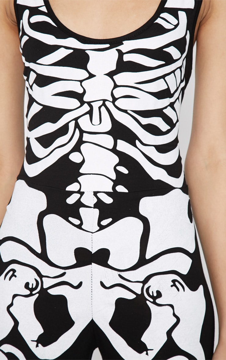 Samantha Skeleton Jumpsuit -M/L 4
