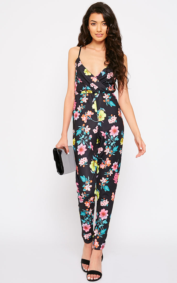 Brooks Floral Print Jumpsuit 1
